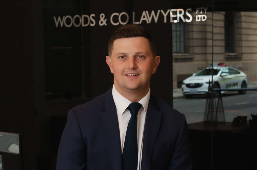Solicitor Hugh Woods From Woods & Co Lawyers